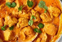 curry de pollo grez